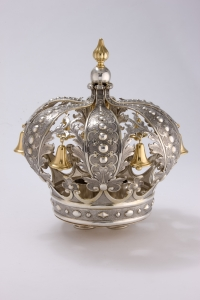 Silver Torah Crown