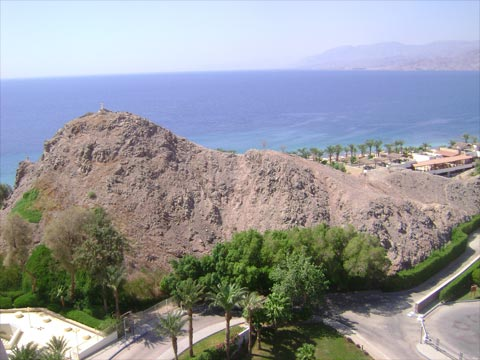 The view of Taba from my room