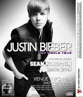 bieber tour poster