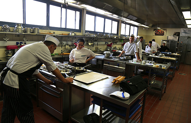 State-of-the-art culinary facilities at BGU's campus in Eilat