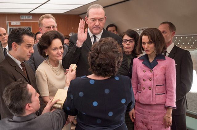 John Carroll Lynch as LBJ, Max Casella, in Jackie