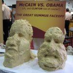 Obama and McCain in Hummus