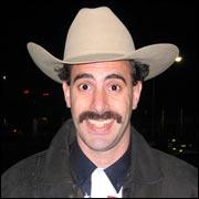 Cohen as Borat