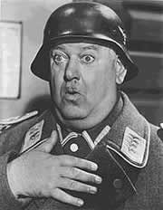 Johann Banner, who played Sgt. Schultz on Hogan's Heroes was a Jewish Concentration Camp Survivor. That has nothing to do with the post but I thought I'd throw that in.