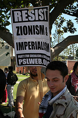 In addition to an attempted boycott, Jewish students were taunted, harassed and verbally assaulted during protests at CSU Long Beach sponsored by Answer-LA and the local Muslim Student Association.