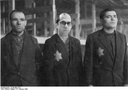 Originally shot in Radogosz concentration camp near Lodz Poland, 1940.