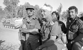 Sharon and Dayan During the Yom Kipur War