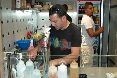 Shmuel Zohar at Work
