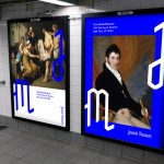 The contemporary J and the M on sample subway posters to mesmerize younger audiences