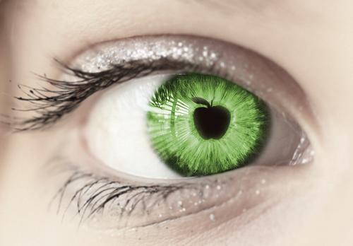 eye apple