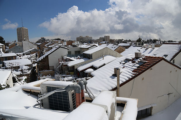 The rooftops of Nachlaot