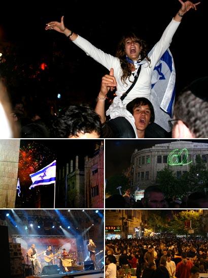 Yom Ha Atzmaut in Jerusalem\'s Zion Square